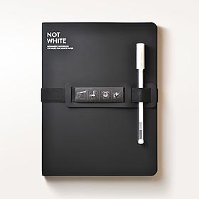 Cuaderno de papel negro