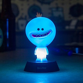 Lámpara con forma de Mr. Meeseeks de Rick & Morty