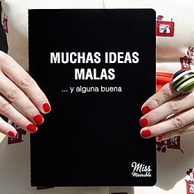 Cuaderno Muchas ideas malas y alguna buena
