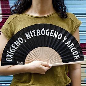Abanico Oxígeno, nitrógeno y argón