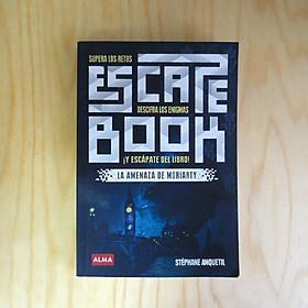Escape book La amenaza de Moriarty de Stéphane Anquetil