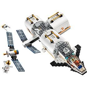 Set de LEGO para construir una estación espacial lunar