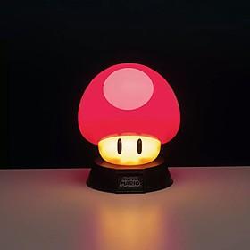 Lámpara con forma de seta de Super Mario