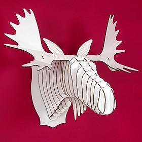 Cabeza de Cartón de Alce Mediana, 'Fred Jr'