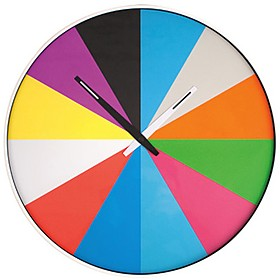Clocks|Gifts for Women Ultra Flat Multi Color Wall Clock