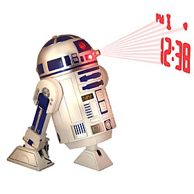 Despertador Proyector Star Wars R2-D2