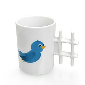 "Taza de Twitter ""Hash Mug"""