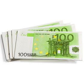 Servilletas de 100 Euros