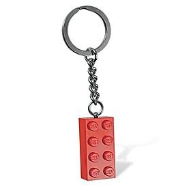Llavero Linterna Bloque de LEGO Rojo