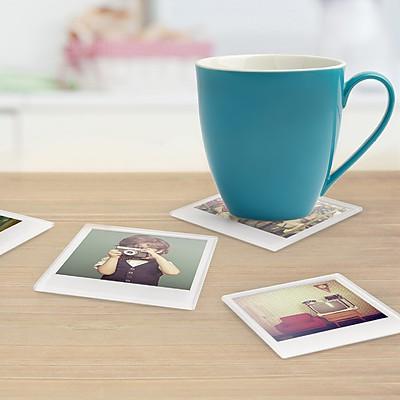 posavasos polaroid - regalos originales decoracion hogar