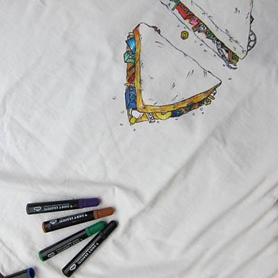 rotuladores para camisetas - regalos personalizados originales hechos a mano