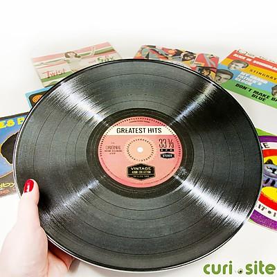 Plato disco de vinilo - Plato discos vinilo ...