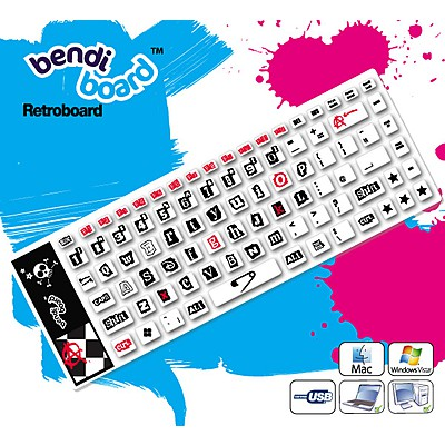 Teclado Flexible Punk