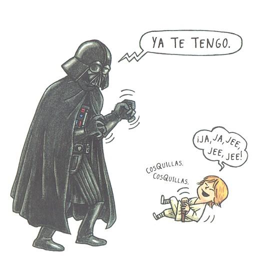 El pequeño Luke es monísimo