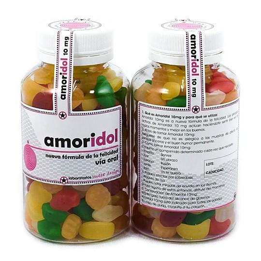 Píldoras dulces que dan felicidad