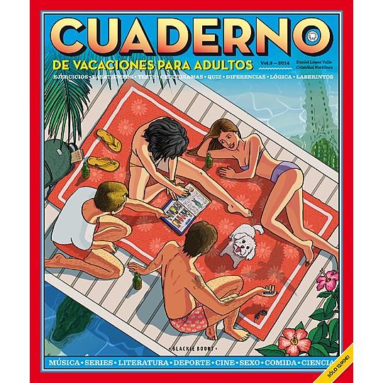 Cuaderno Blackie Books: actividades de vacaciones para adultos
