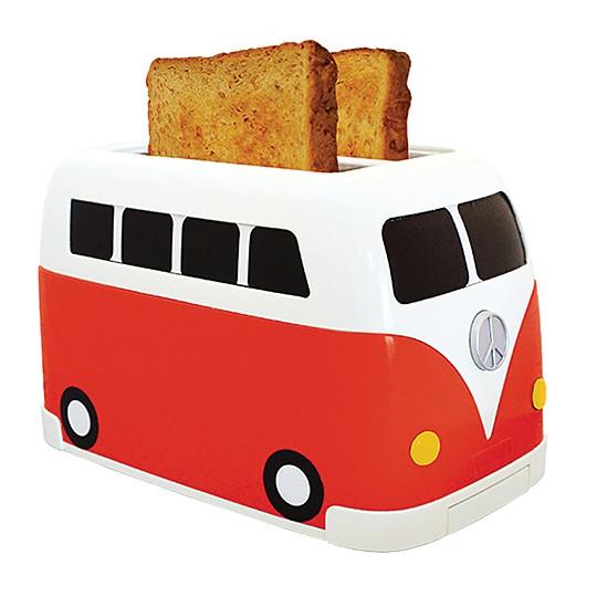 Tostadora furgoneta hippie roja - Tostadora diseno ...