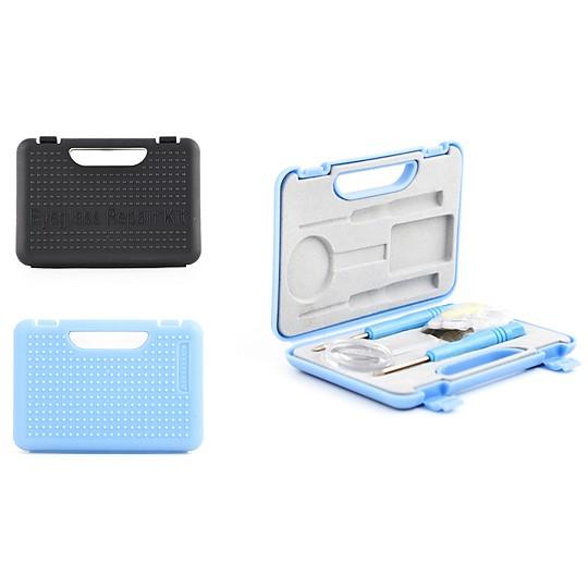 Se guarda todo en un práctico mini maletín