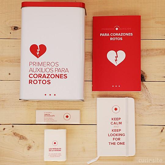 Un kit de primeros auxilios para curar el desamor