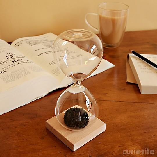 Un reloj de arena para relajar la mente
