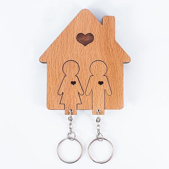 El colgador de llaves de las parejas felices