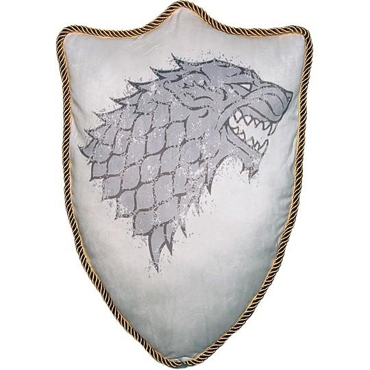 Cada cojín lleva el escudo de su casa