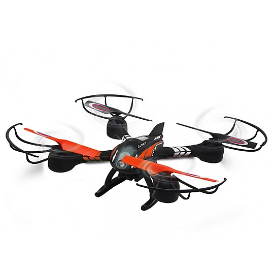 Controla este cuadricóptero con cámara en primera persona