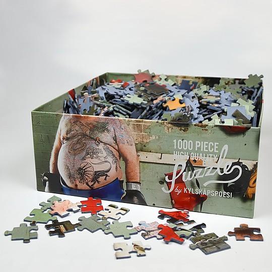 El puzzle de 1.000 piezas anticursilería