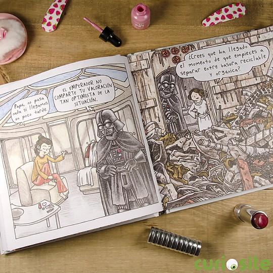 El lord oscuro de los Sith se enfrenta a la adolescencia de Leia