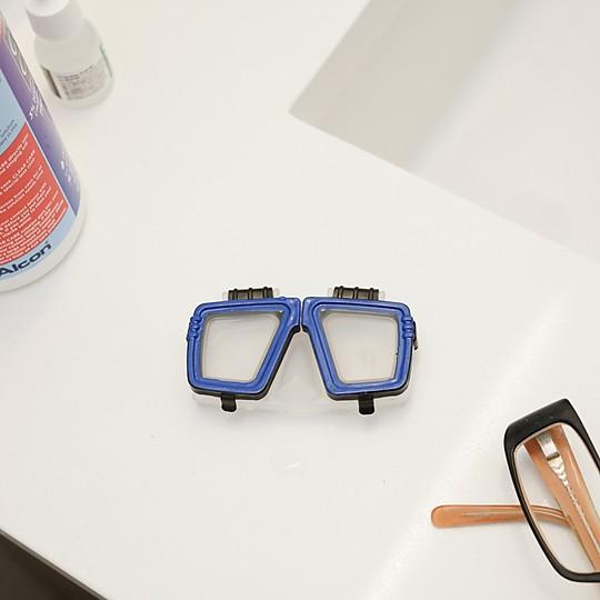 Estuche para lentillas gafas de bucear - Estuche para lentillas ...