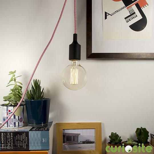 Una lámpara retro ideal para bombillas incandescentes