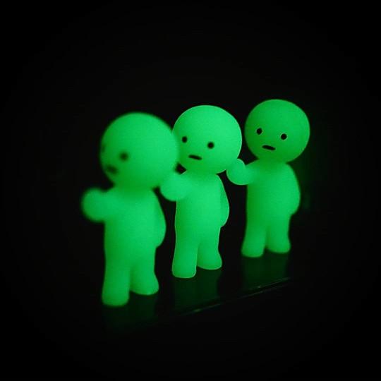 Brillan en la oscuridad