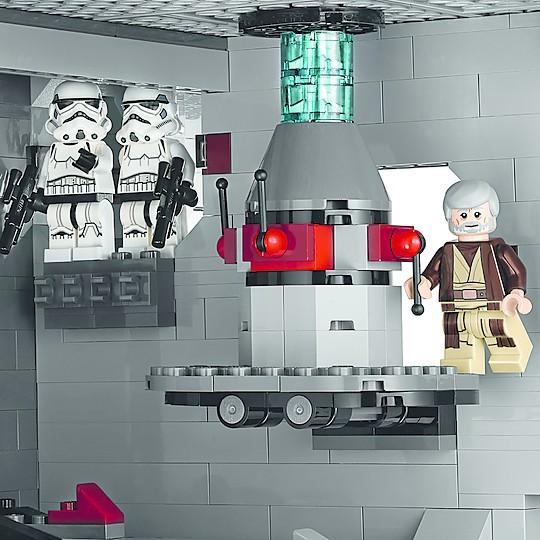 ¿Conseguirá Obi Wan apagar el rayo tractor?