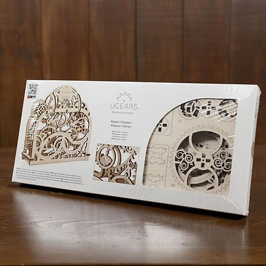 Embalado en una bonita caja