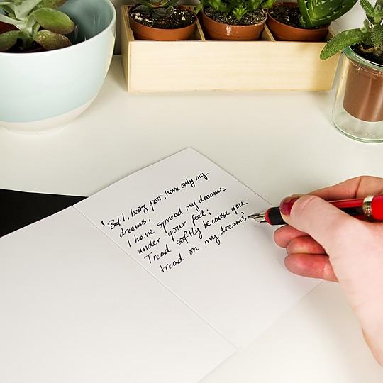 Escribe tus mensajes más personales