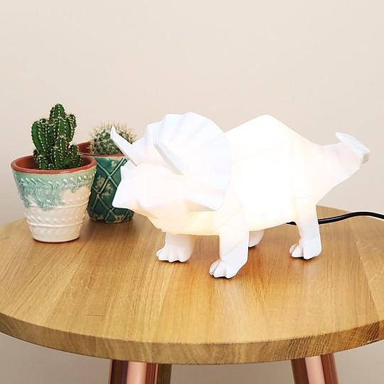 Este es el triceratops