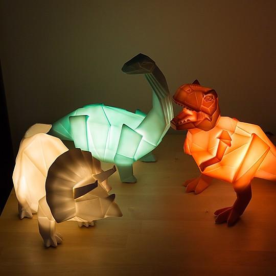 Unas lámparas prehistóricamente chulas