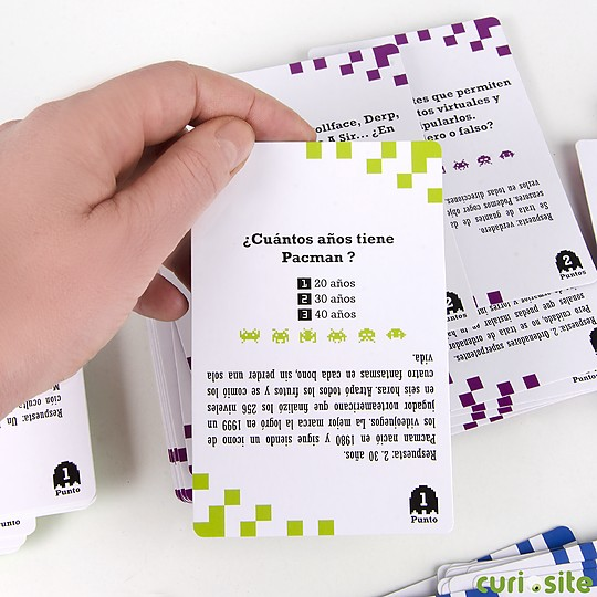 Incluye 150 tarjetas con preguntas y respuestas