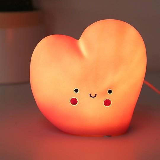 Un corazón luminoso