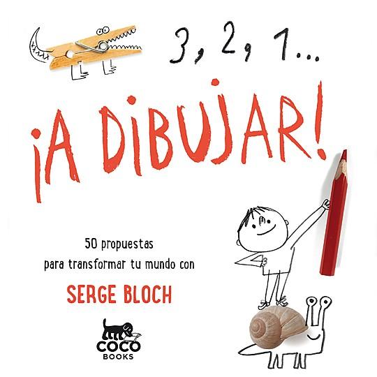 3, 2, 1... ¡A dibujar!, un libro de actividades