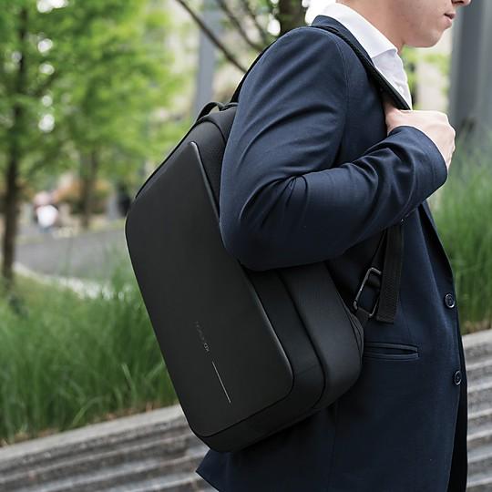 Maletín y mochila para portátil en uno