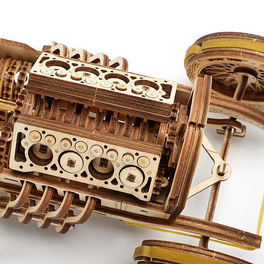 Recrea los prototipos de coches de fórmula uno