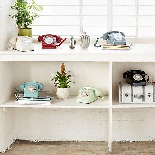 Este teléfono retro dará el punto definitivo a tu decoración