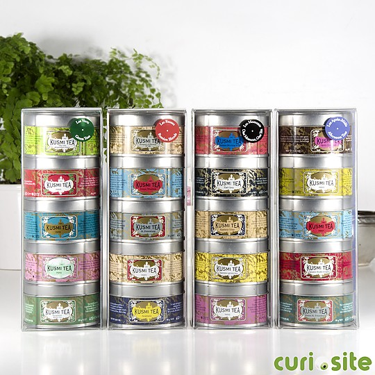 Cada latita contiene 25 gr de té