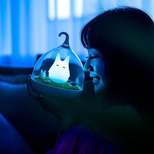 Una luz de noche llena de encanto