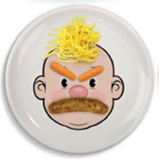 Cejas de zanahoria, bigote de salchicha y pelo de espaguetis