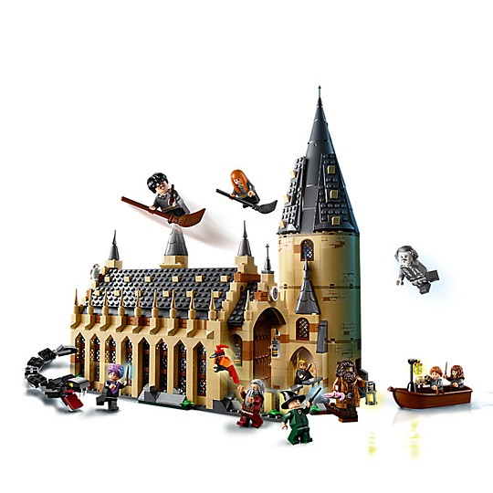 El Gran Comedor de Hogwarts de LEGO