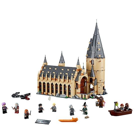 Incluye diez minifiguras
