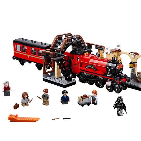 Construye el Expreso de Hogwarts con este set de LEGO