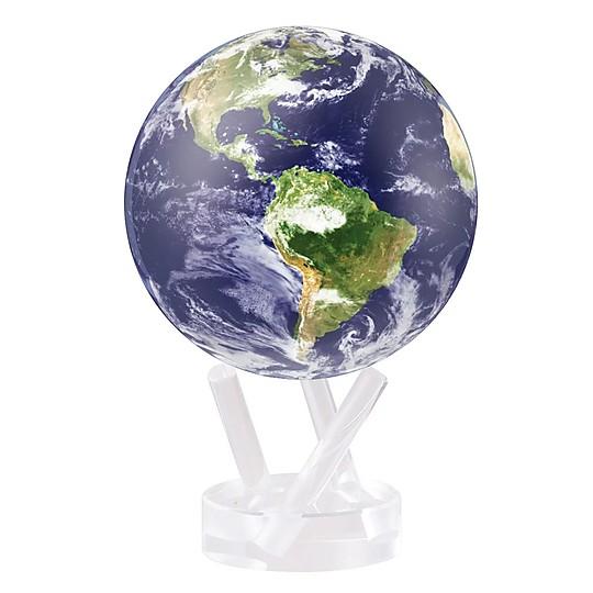 Modelo Tierra vista desde el espacio